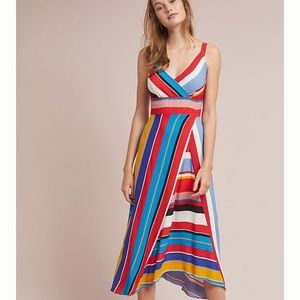 Tracy Reese x Anthropologie Striped Dress
